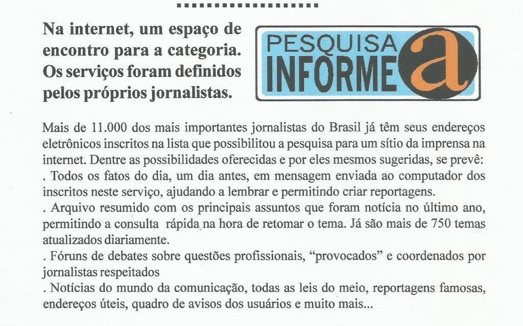 InformeA Associação Brasileira de Imprensa – ABI, um caso especial